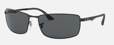 Rayban Black Frame with Gradient Lens (RB 3498) POLARIZED - Shop Escape Outdoors