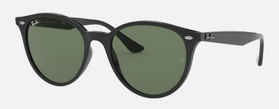 Rayban Black Round Frame with Classic Black Lens (Rb 4305) - Shop Escape Outdoors