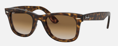 Rayban Wayfarer Ease Tortoise Frame with Light Brown Gradient Lens (RB 4340) - Shop Escape Outdoors