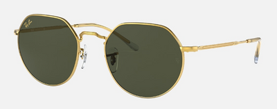 Rayban Jack Gold Frame with Classic G-15 Lens (RB 3565) - Shop Escape Outdoors