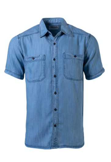 Men's Ace Indigo Short Sleeve Shirt - Shop Escape Outdoors
