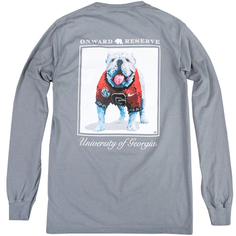CHARLIE HANAVICH UGA LONG SLEEVE TEE - Shop Escape Outdoors