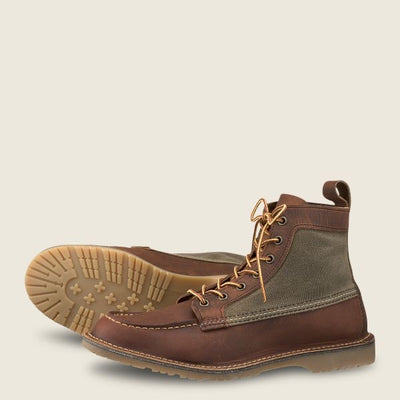 Redwing 6in Moc Briar - Shop Escape Outdoors