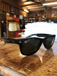 New Wayfarer Classic Gloss Black, Green Classic G-15 (Polarized) - Shop Escape Outdoors