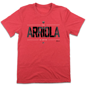 Paul Arriola MLSPA D.C. United T-shirt
