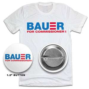 Bauer For Commissioner