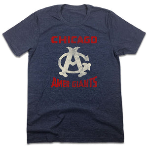Chicago Amer Giants T-shirt Negro Leagues