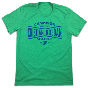 Cristian Roldan MLSPA Seattle Sounders T-shirt