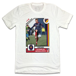 Djordje Mihailovic MLSPA Player Card T-shirt Chicago Fire