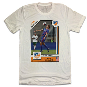 Official Nick Hagglund Player Card Tee