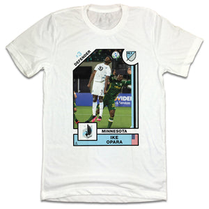 Official Ike Opara Player Card T-shirt Minnesota United