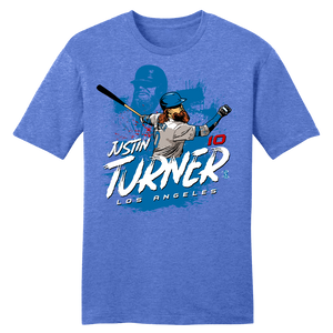 Official Justin Turner MLBPA Tee