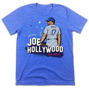 "Official Joe Kelly ""Joe Hollywood"" MLBPA T-shirt"
