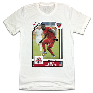 Jozy Altidore MLSPA Player Card T-shirt