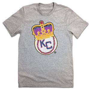 Kansas City Monarchs Crown Logo T-shirt
