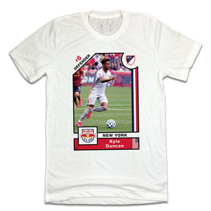 Kyle Duncan Official MLS Player Card T-shirt