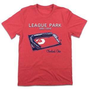Cleveland League Park  T-shirt