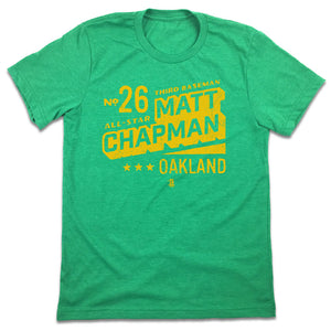 Official Matt Chapman All-State Designer Series T-shirt