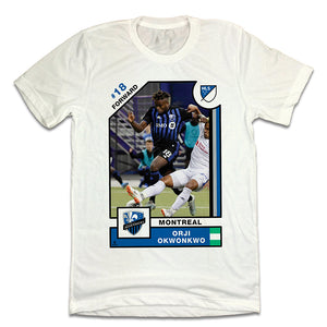 Orji Okwonkwo Official MLS Player Card T-shirt