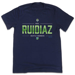 Raul Ruidiaz MLSPA Tee Seattle Sounders T-shirt