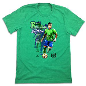 Official Raul Ruidiaz MLSPA Player T-shirt Seattle Sounders