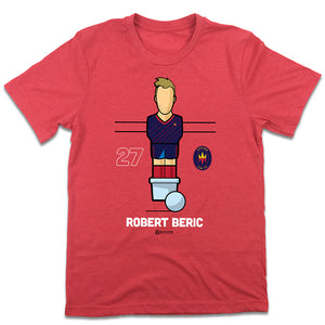 Robert Beric MLSPA Foosball Chicago Fire FC T-shirt