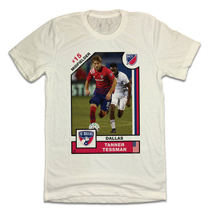 Tanner Tessman Official MLS Player Card T-shirt FC Dallas