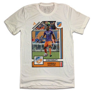 Official Kendall Waston Player Card Tee