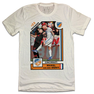 Offiical Maikel Van Der Werff Player Card Tee