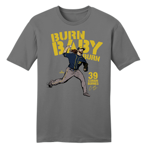 Official Corbin Burnes MLBPA Tee Grey