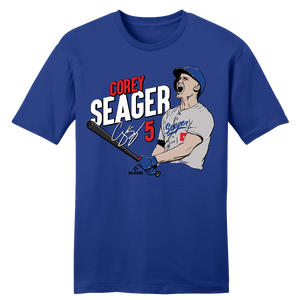 Official Corey Seager MLBPA Tee