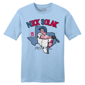 Official Nick Solak MLBPA Tee Ice Blue