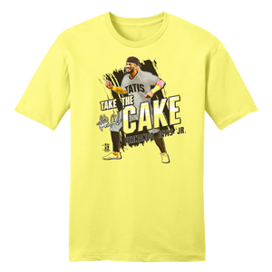 Official Fernando Tatis Jr. Take the Cake MLBPA Tee