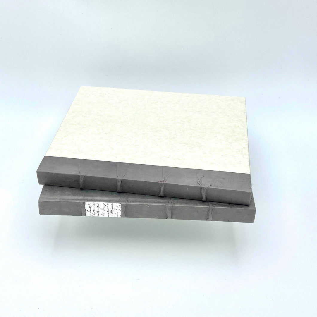 Decorative Book with Gray Binding