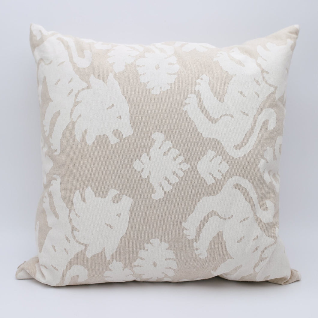 Lion Print Pillow