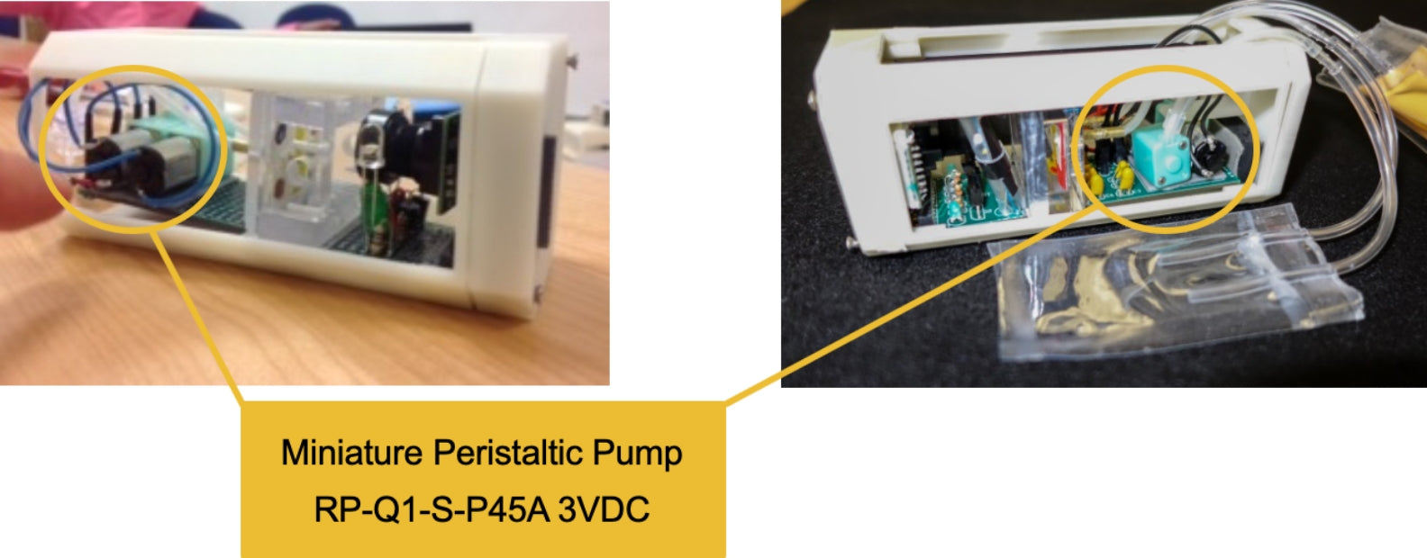 micro pump RP-Q series which is adopted by ISS experiment device