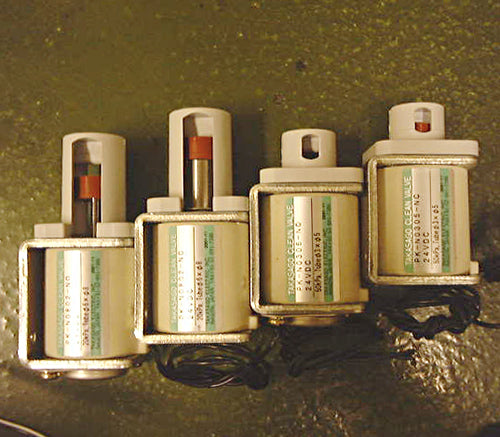 takasago lineup of pinch valves
