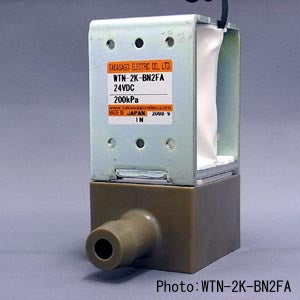 Diaphragm Valve WTN Series [2way-NC / Orifice: 6.0mm / PEEK body]