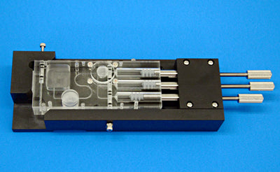 Reagent-Prefillable Disposable Fluidic System [Syringe Pump Type]