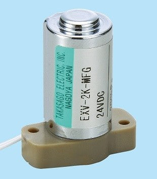 Diaphragm Valve EXV Series [2way-NC / Orifice: 1.0mm / PEEK body]
