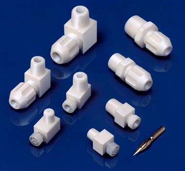 Fittings for PTFE tubing TSML Series [Thread R1/4]