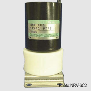 Diaphragm Valve - NRV Series [2-way NC / Orifice: 6.0 mm / PTFE Body / Soft Seal]