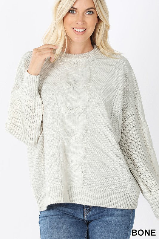 Calista Cabled Sweater