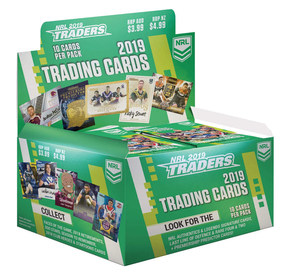 2019 NRL Traders Sealed Box