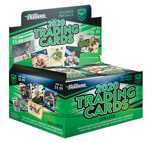 2020 NRL TRADERS SEALED BOX - BONUS 4x FREE PACKETS OF 2019 ELITE