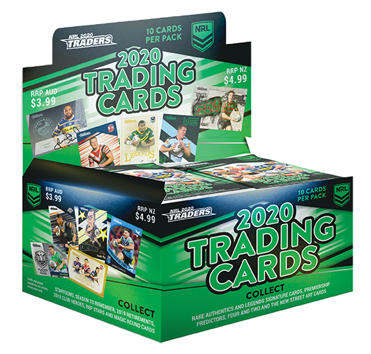 2020 NRL TRADERS SEALED BOX