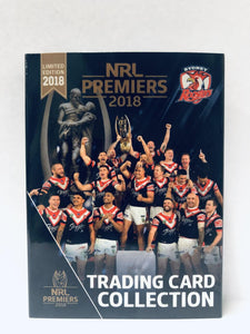 2018 Roosters Unsigned Premiership set