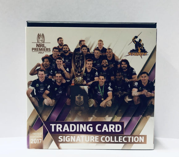 2017 Storm Signed Premiership set