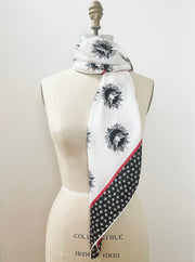 Personalized Storybook Polka Dot Scarf