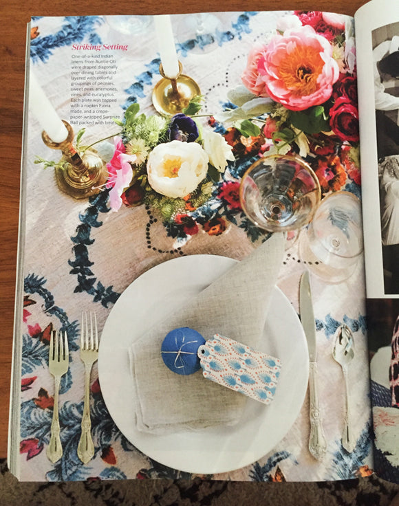 MS PRINTED TABLECLOTH